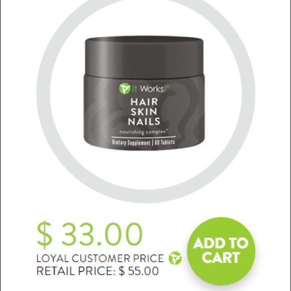 it works! Other | Must Go It Works Hair Skin And Nails | Poshmark